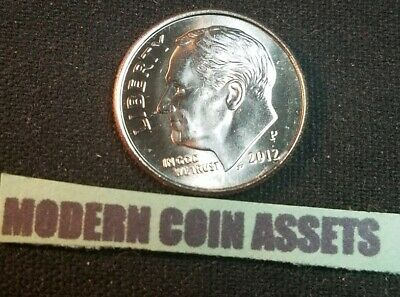 Brilliant Uncirculated from OBW Bank Roll 2014 P Roosevelt Dime