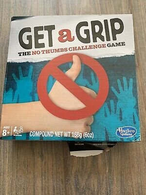 Hasbro Gaming Get A Grip The No Thumbs Challenge Game