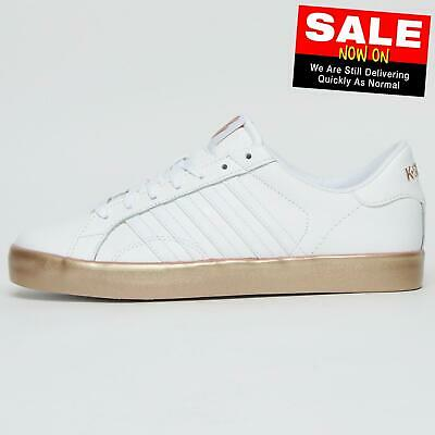 K Swiss Belmont SO Women's Causal Vintage Retro Fashion Sneaker Trainers White
