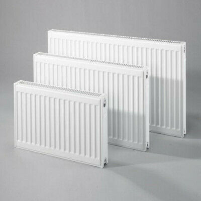 Compact Radiator White Type 11 21 22 300mm 400mm 600mm 700mm Central Heating