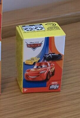 Mini Cars Racers Pixar Strip weather 'The King' Sealed Blind Box