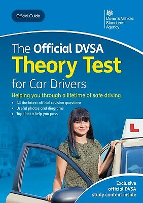 The Official DVSA Theory Test for Car Drivers Book 2019/2020 Brand New