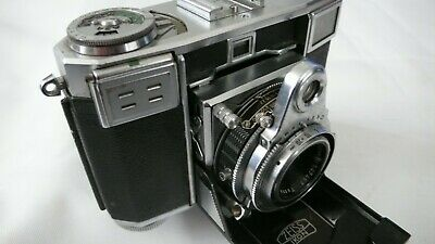 ZEISS IKON Contessa-35 533/24 Camera Tessar f2,8/45mm Lens Fitted Leather Case
