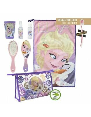 Frozen Set of Dining, Toiletry Bag Grooming, Travel
