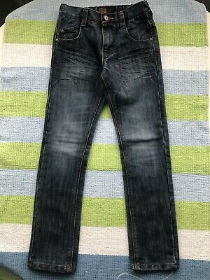 Boys Blue Next Slim Fit Jeans Age 8 Yrs