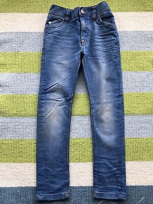 Boys Blue Next Skinny Jeans Age 6yrs