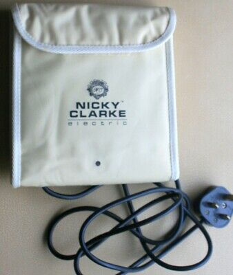 Nicky Clarke 18 flexi electric rollers.hardly used, in very good condition