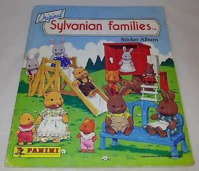 Sylvanian Families : Vintage Panini Sticker Album From 1988 : 100% Complete