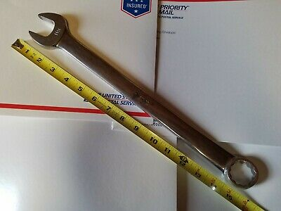 "Snap-on OEX36 1-1/8"" 12pt Combination Wrench"