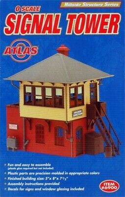 Atlas O Scale 6900 SIGNAL TOWER KIT Building Kit HH