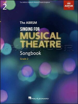 ABRSM Singing for Musical Theatre Songbook Grade 2 Music Book Exam Sing Vocal