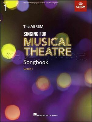 ABRSM Singing for Musical Theatre Songbook Grade 1 Music Book Exam Sing Vocal