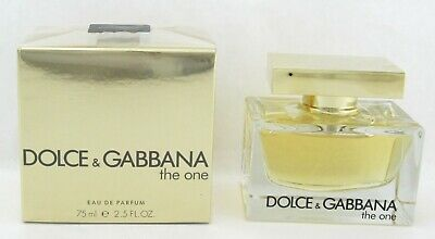 The One Perfume by Dolce & Gabbana 2.5 oz Eau de Parfum Spray Damaged Box