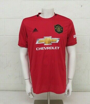 Adidas Manchester United 19/20 Season Home Jersey #7 Grolnick Men's Large MINT