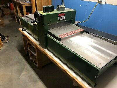 "2014 CLEEN-CUT Flatbed Die Cutter, 15"", with bonus electric conveyor belt"