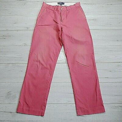 Mens Vintage Ralph Lauren Casual Chino Trousers  W30 L30  #CR48