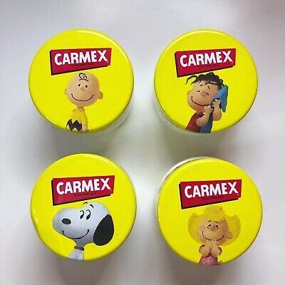 Carmex Charlie Brown Snoopy Lip Balm Collection