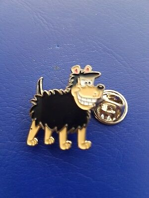 Jack russell chien image metal 25mm pin badge
