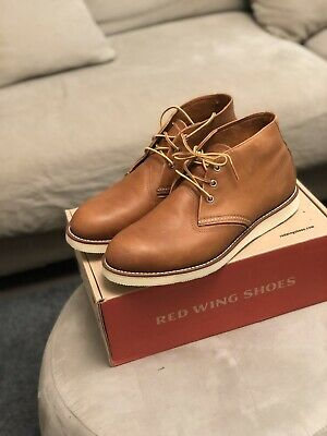 Red Wing Shoes  Boot Chukka Marrone Mid 3140 Tg 45 , usa  11 1/2  ,