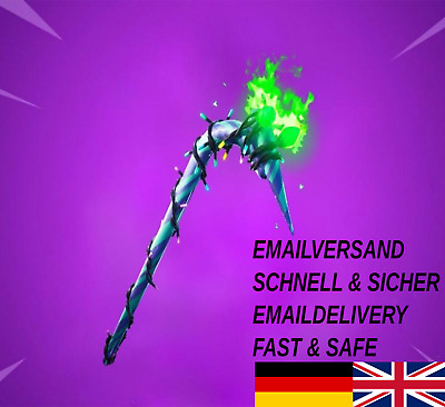 Fortnite Minty Pickaxe Code EMAILVERSAND Merry Mint Axe XBOX PSN PS4 PC Android