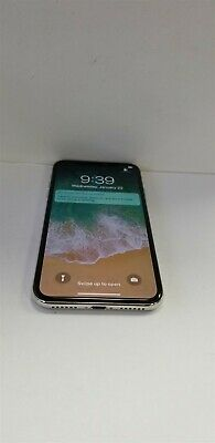 Apple iPhone X 64gb Silver A1865 (Unlocked) Great Phone Discounted NW2146