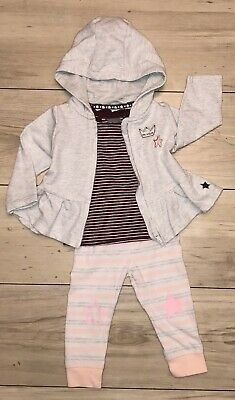 F&F...Next Baby Girls Outfit 3-6 Months Vgc