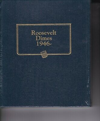 New  Roosevelt Dimes (1946-2010) Whitman Classic Coin Album   #9119