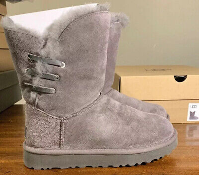 Ugg Constantine 1018629 Woman's Boots Charcoal Size 9, Authentic/ Brand New