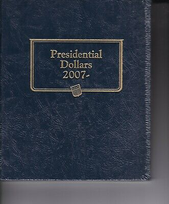 Whitman Classic Coin Album #2183 Presidential Dollars 2007- New in Plastic