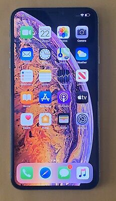 ***Factory Unlocked iPhone XS Max - 64GB - Silver***