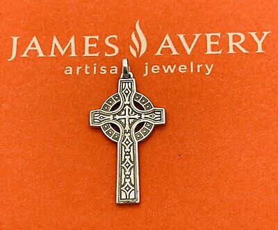 James Avery 925 Sterling Silver Retired Pax Celtic Ornate Cross Vguc