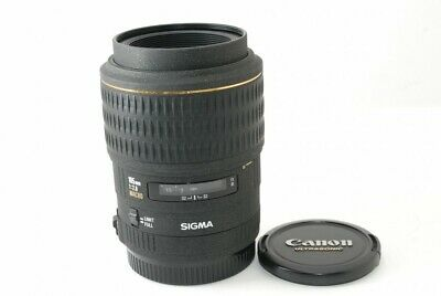 SIGMA AF 105mm F2.8 EX MACRO Lens for Canon from Japan Excellent!! 20016491