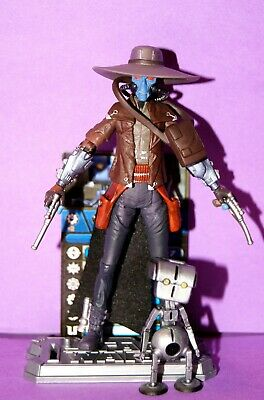 Star Wars Clone Wars Cad Bane & Todo Droid Cw42 Loose Complete