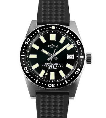 Mechanical automatic diver 62MAS  sapphire 300m water resistance men's watch