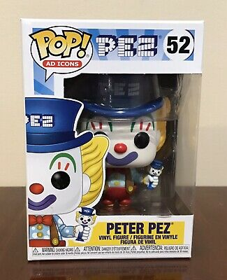 Funko Pop!: AD Icons - Peter Pez (Blue Hat) 52 New