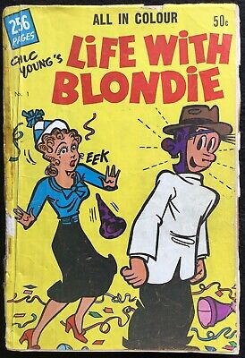 LIFE WITH BLONDIE - 1, 1964, 256 pages, Colour, Dagwood, VG, USA