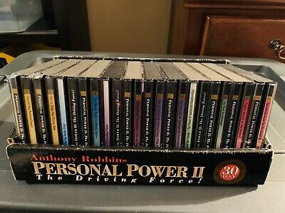 Anthony Robbins: Personal Power II (30 Day Program) Complete 25 CD Set.