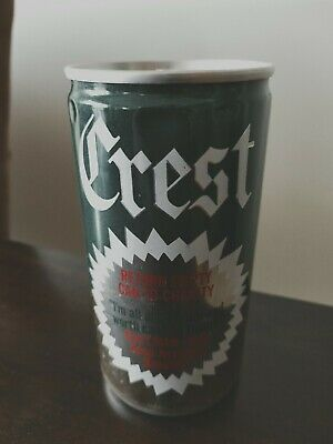 """COURAGE CREST LAGER """"RETURN EMPTY CAN TO CHARITY"""" - RARE MID-1970's ERA BEER CAN"""