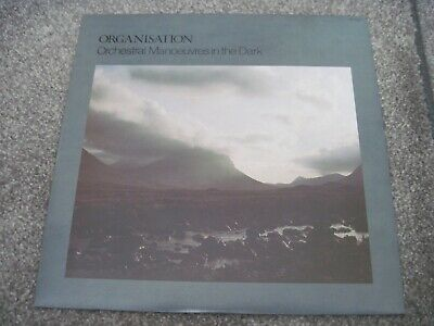 ORCHESTRAL MANOEUVRES IN THE DARK Organisation & INSERT dindisc  JAPAN near mint