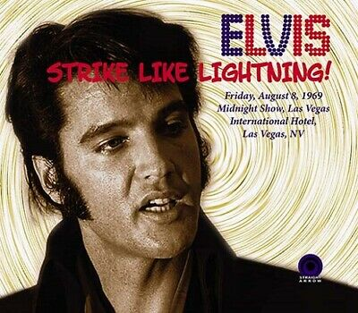 ELVIS PRESLEY - STRIKE LIKE LIGHTNING - Straight Arrow label