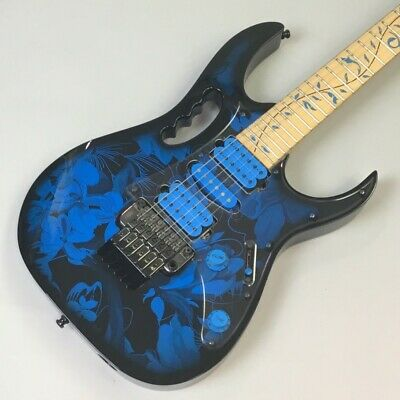 Ibanez JEM77P Blue Floral Pattern Guitar Free Shipping