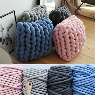 500g Super Thick Bulky Wool Yarn Soft Chunky Hand Knitting Hat Scarf Blanket