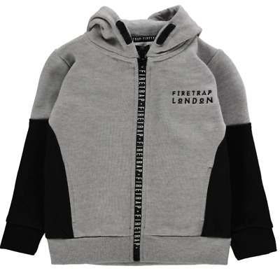 FIRETRAP 2 Piece Jogging Set Infant Boys Grey Size UK 3-4 Years *REF37*