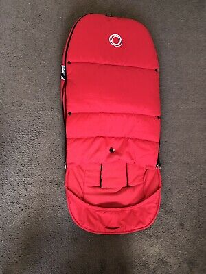 Bugaboo Footmuff Red Excellent Used Condition