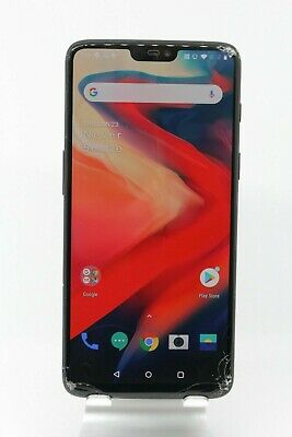Smashed Oneplus 6 128/8GB Android smartphone repairs clearance FREE FAST P&P