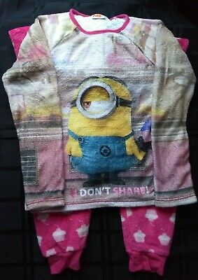 Girls pyjamas 9-10 years Despicable Me