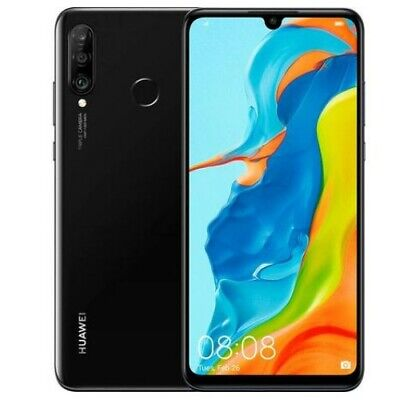 HUAWEI P30 Lite - 128 GB Midnight Black - Immaculate Condition Unlocked
