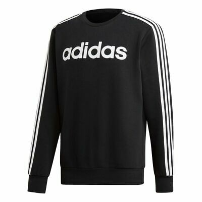 Adidas Essentials 3 Stripes Crewneck Herren Sweatshirt