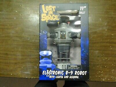 "Diamond Select Lost in Space - Electronic B-9 Robot 11"" - Free Shipping."