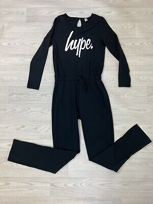 Girls HYPE Black Jumpsuit Age 14 Worn Once